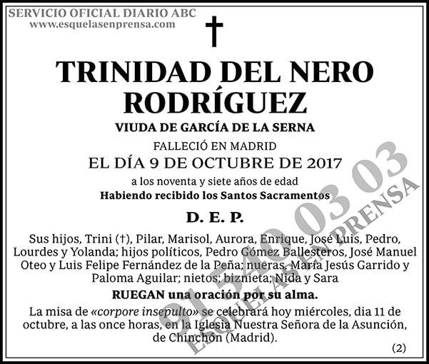 Trinidad del Nero Rodríguez